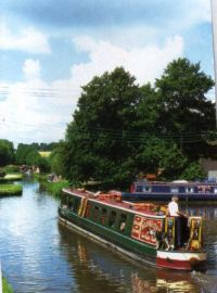Canals and Narrow boats nr Ashbourne