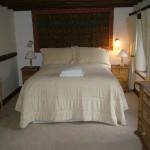 master bedroom Hillside Croft