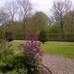 front gardens Hillside Croft large self catering cottage Derbyshire