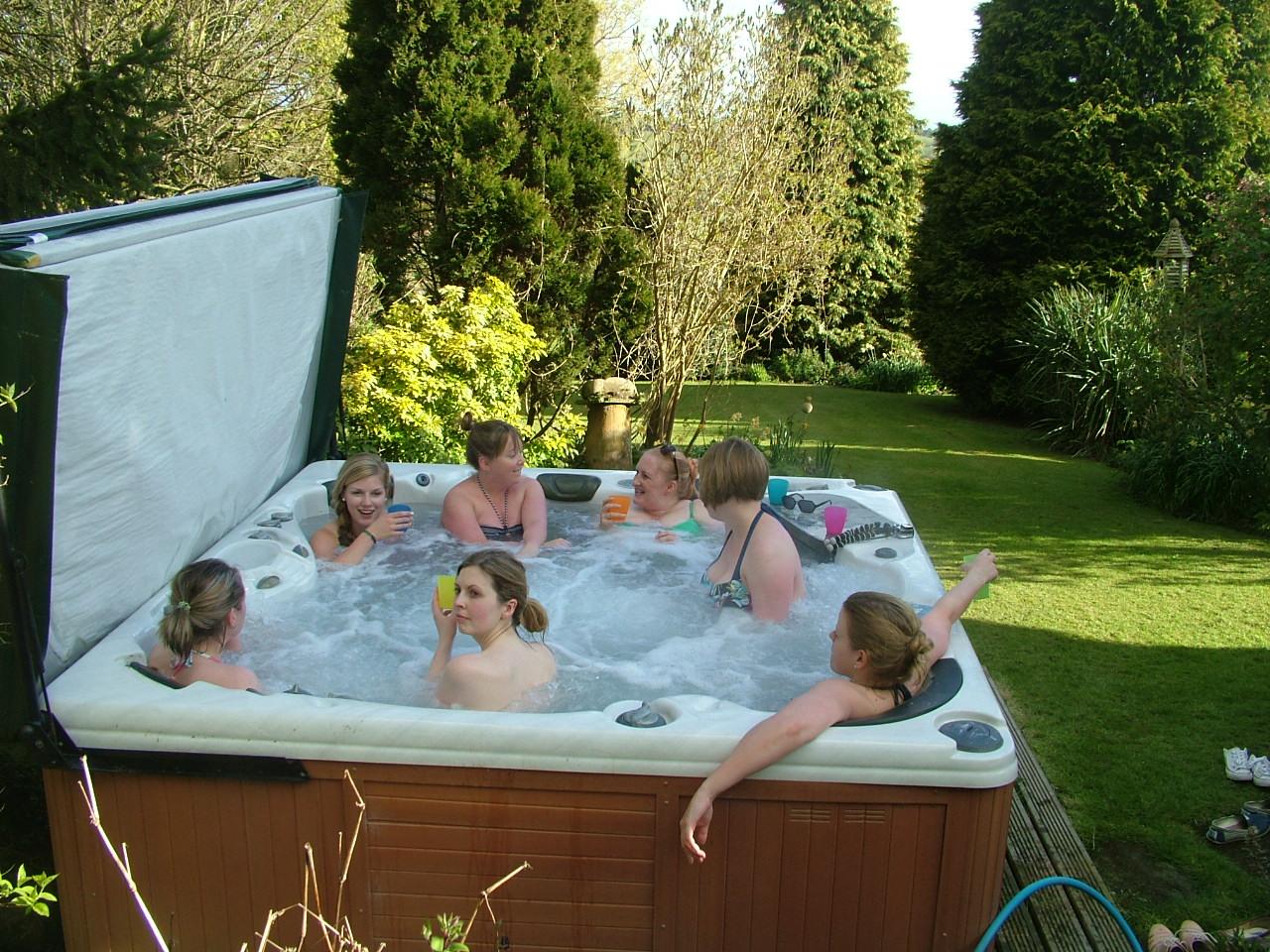 Hot Tub at Offcote Grange