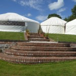 wedding venue tipis in Derbyshire