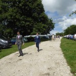 Car parking for wedding venue Derbyshire