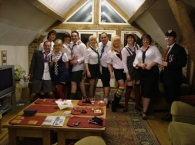 The Class of 2008 at Billys Bothy